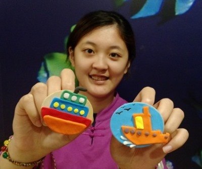 歡迎大小朋友來十三行體驗磁鐵船DIY