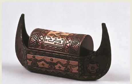 展品-漆煙盒,此圖由高雄歷史博物館提供
