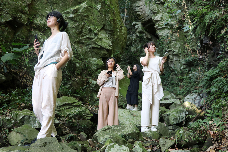 在山林秘境中,尋找歷史的足跡