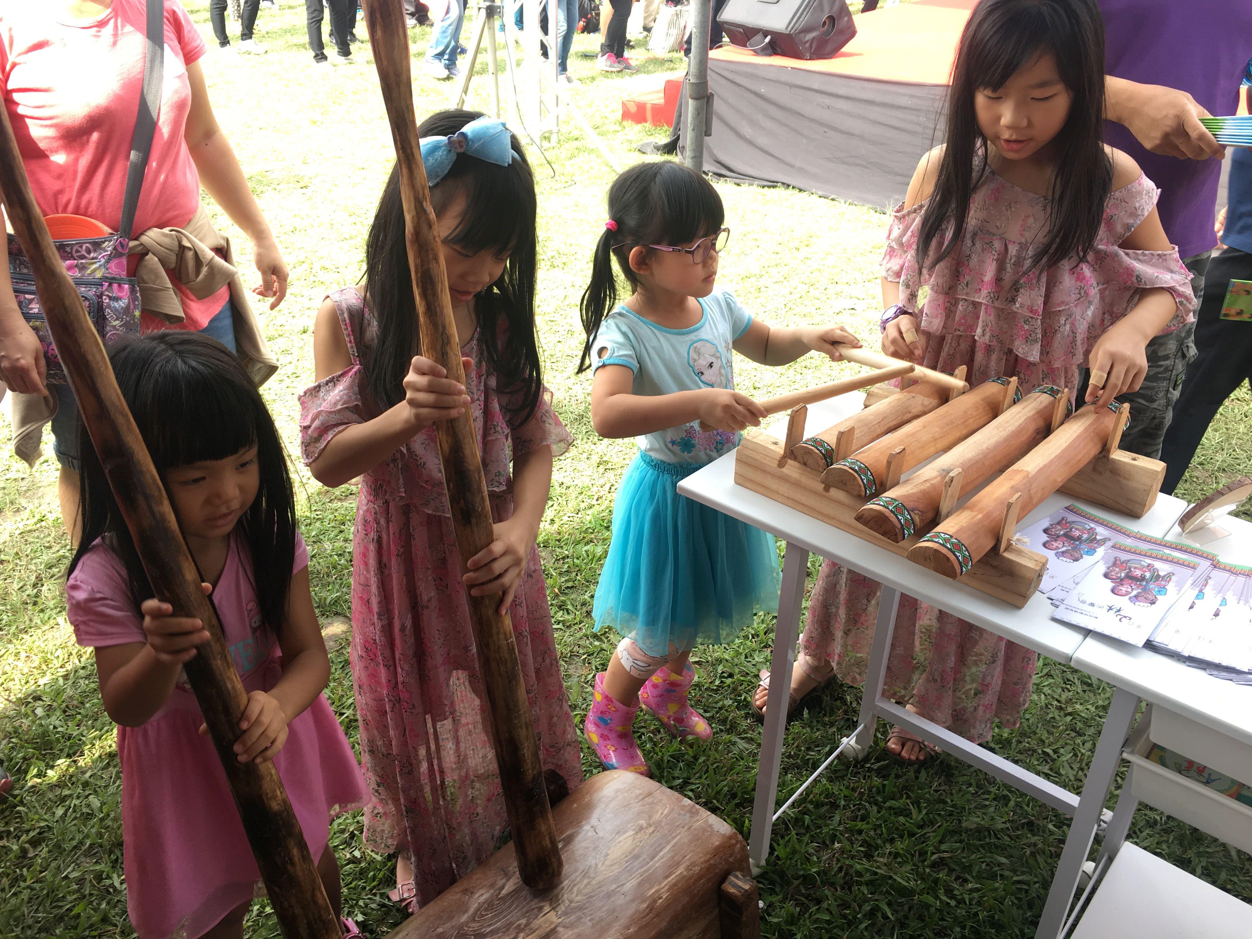 感受原住民族樂器美妙的聲響
