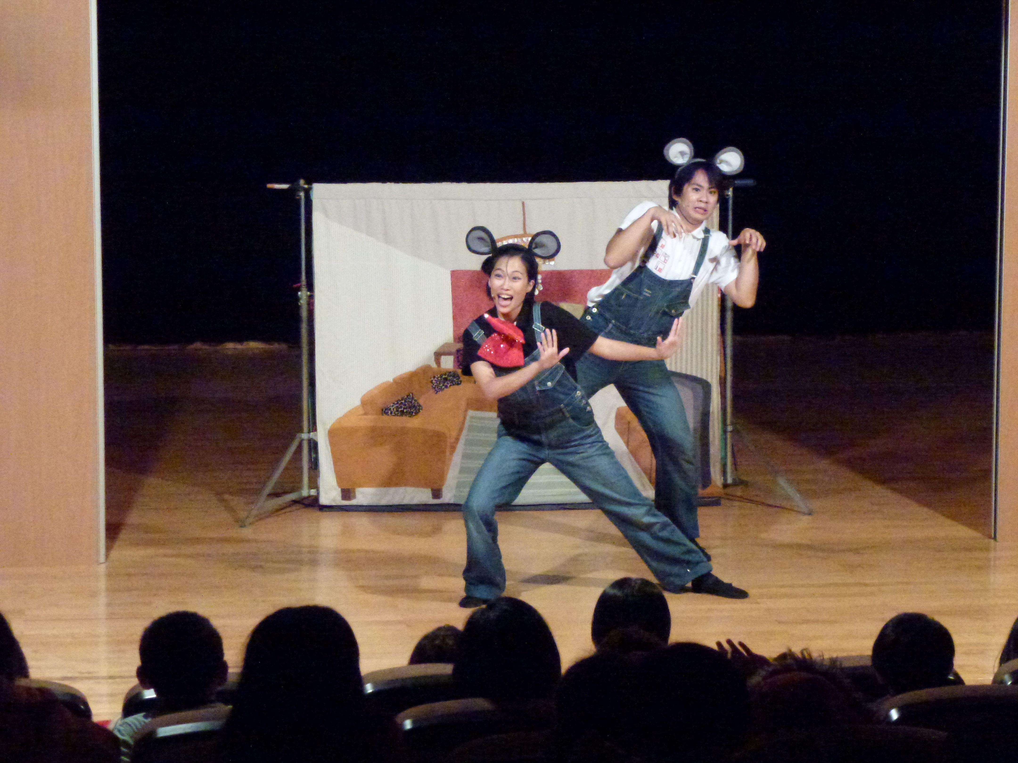 「Be劇團」可愛逗趣的《快樂鼠》劇碼