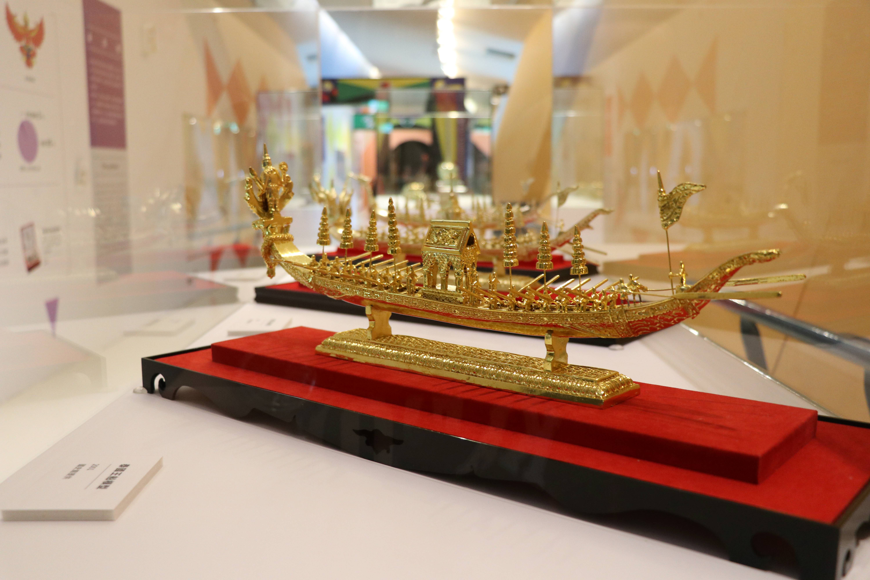泰國王船模型作工精細,揭示暹羅皇室文化的印度元素