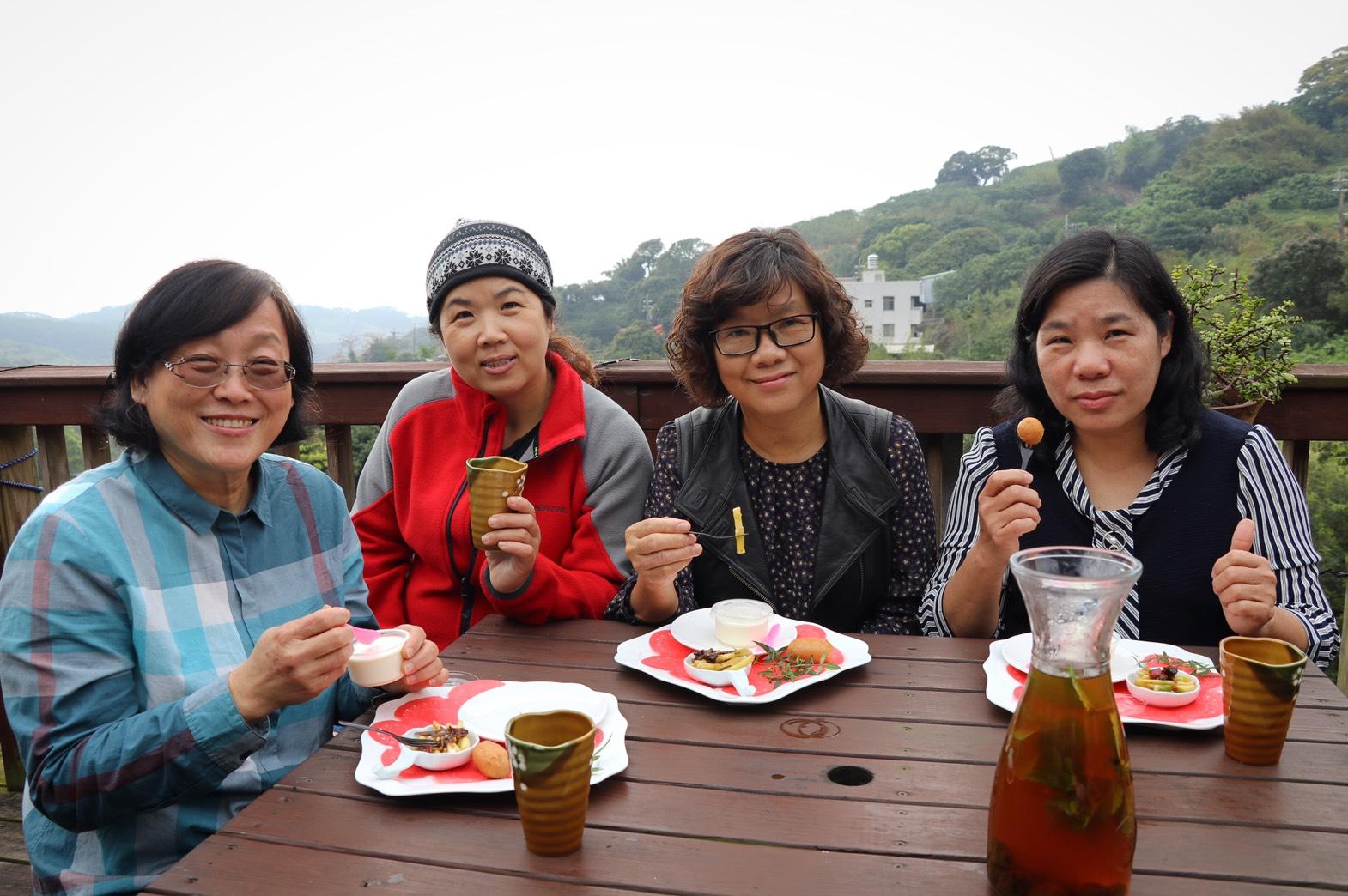 十三行樂齡日初夏小清新 山間秘境享季節時蔬午茶