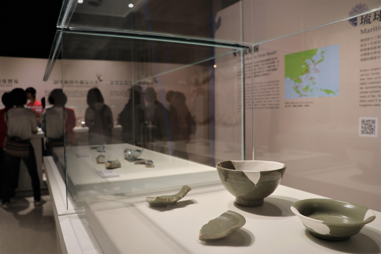 來自琉球王國的寶物 十三行展出百件海上瑰寶