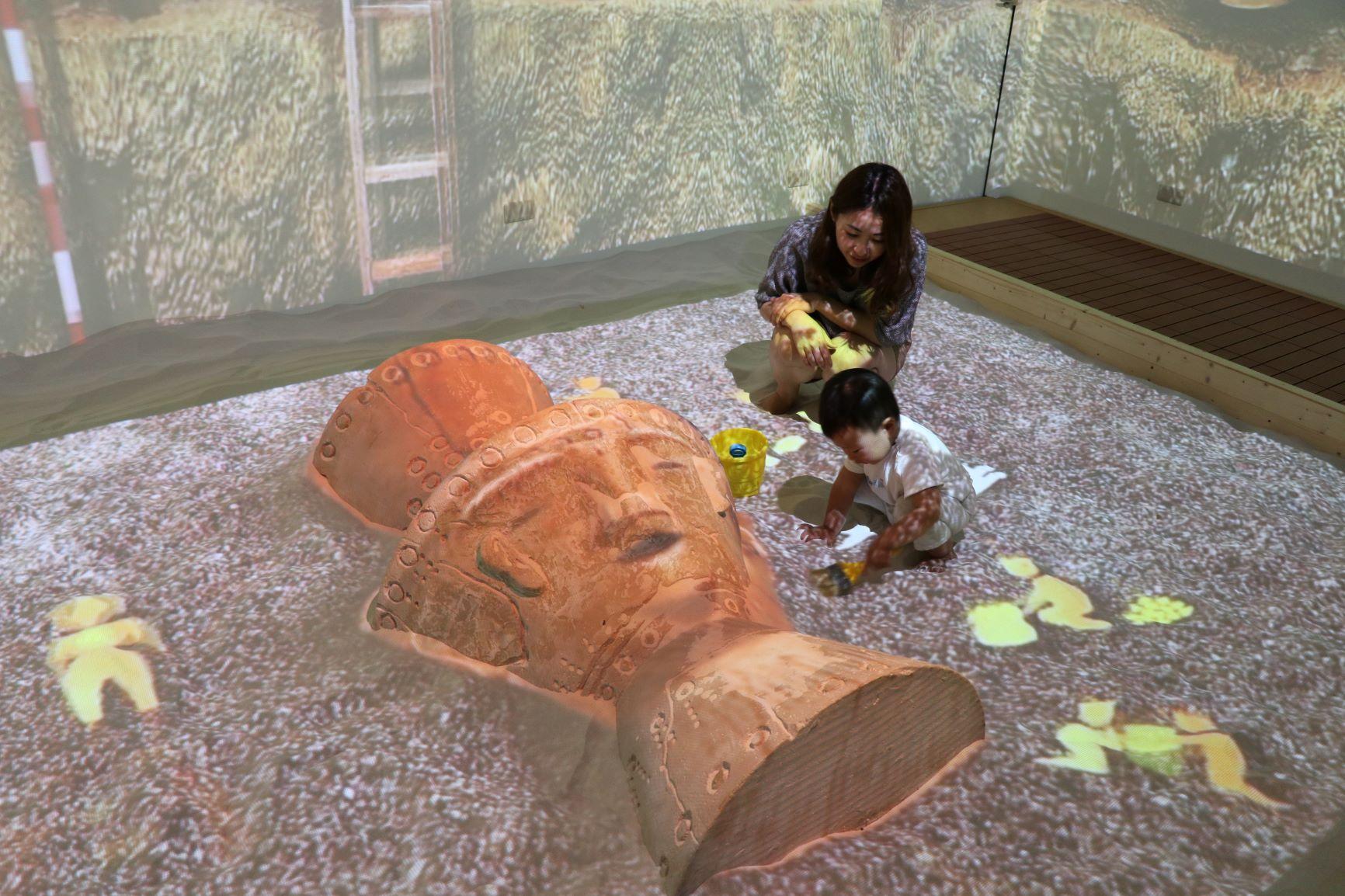 十三行博物館魔幻考古沙坑奪休士頓影展金獎 6/2起免費暢玩