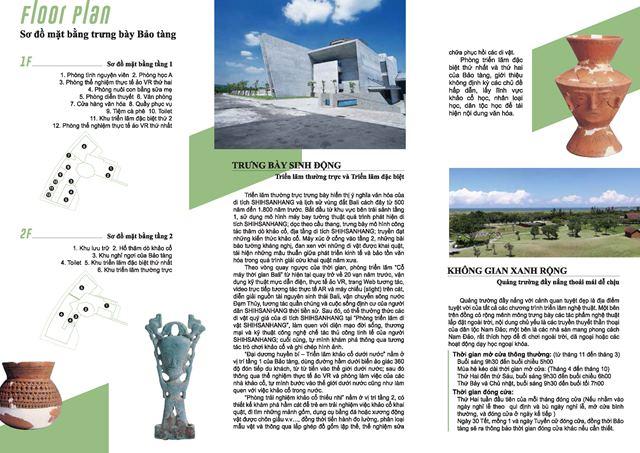 新北市立十三行博物館簡介-越南語背面